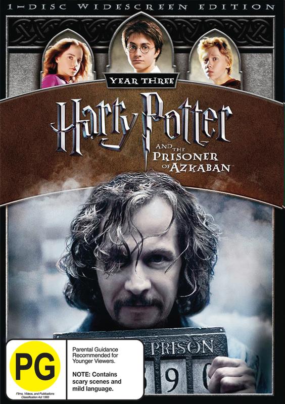 Harry Potter and the Prisoner of Azkaban - 1 Disc (New Packaging) on DVD