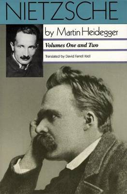 Nietzsche Part 1, Volumes 1 & 2 by Martin Heidegger image