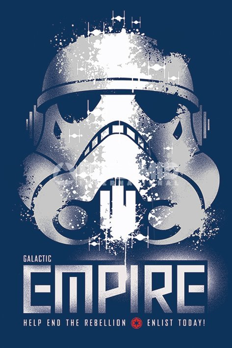 Star Wars Galactic Empire Wall Poster (279)