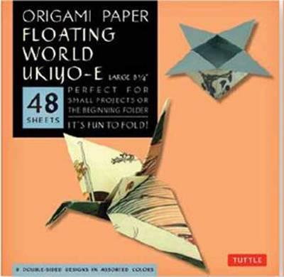 Origami Paper Floating World Ukiyo-e Large by Tuttle Publishing