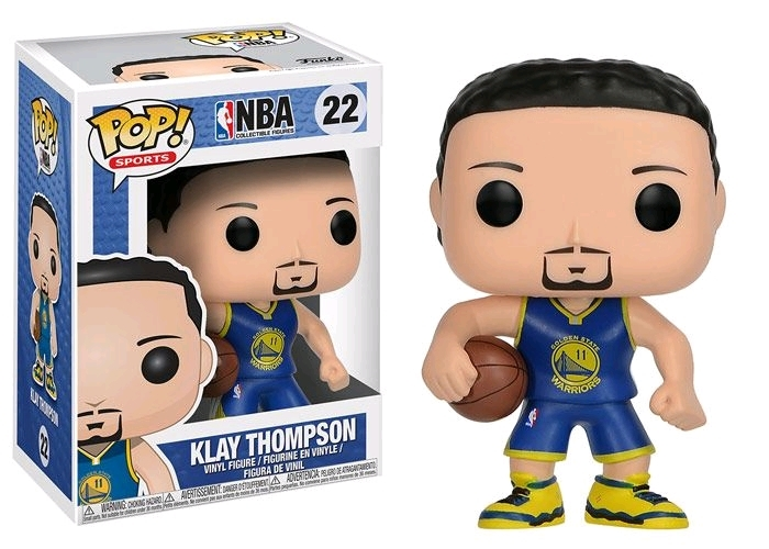 NBA - Klay Thompson Pop! Vinyl Figure image