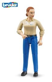 Bruder: Driver Figure - (Female)