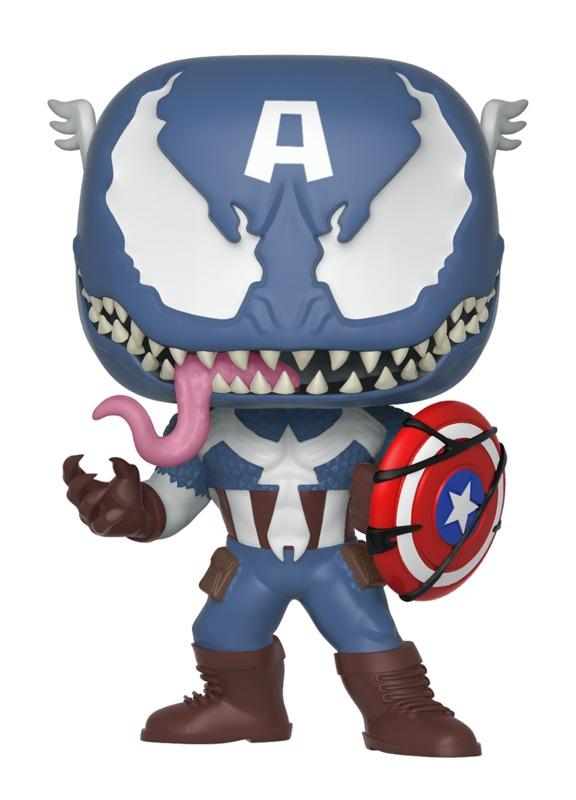 Marvel: Venomized Captain America - Pop! Vinyl Figure