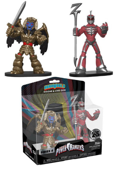 Power Rangers - HeroWorld Figures #3 (2-Pack)