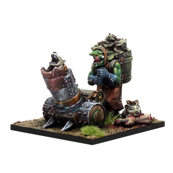 Kings of War Vanguard: Goblin Mawpup Launcher