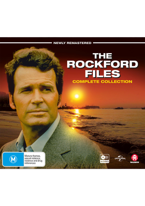 The Rockford Files Complete Box Set on DVD