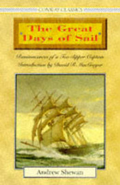 The Great Days of Sail by Andrew Shewan image