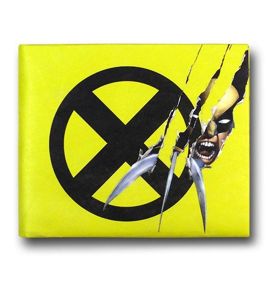 Wolverine X Men Symbol Tyvek Mighty Wallet Men S At
