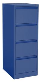 Proceed Lockable Filing Cabinet 4 Drawer - Dusk Blue