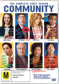 Community - The Complete 1st Season DVD