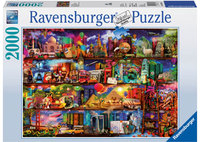 Ravenburger - World of Books Puzzle (2000pc)