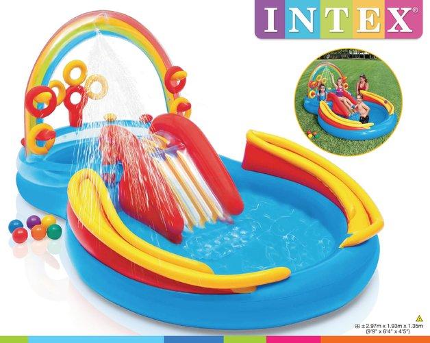 Intex: Rainbow Ring Play Center