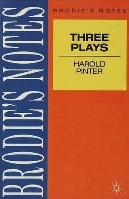 Pinter: Three Plays by John P. Jenkins