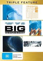 Step Into Liquid / Big Wednesday / Billabong Odyssey - Triple Feature (3 Disc Set) on DVD