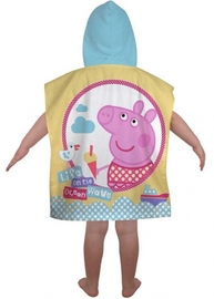 Peppa Pig Hooded Poncho image