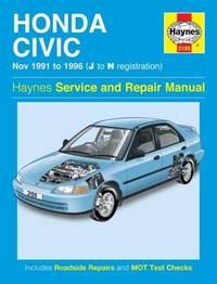 Honda Civic 91-96 by Haynes Publishing image
