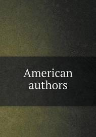 American Authors by Irving Washington