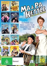 Ma & Pa Kettle - The Complete Collection on DVD