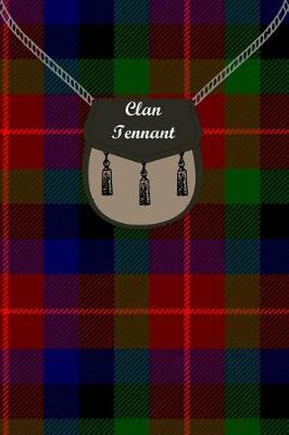 Clan Tennant Tartan Journal/Notebook by Clan Tennant
