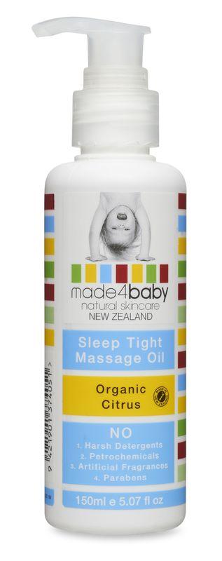 Made4Baby: Sleep Tight Massage Oil - Organic Citrus (150ml)