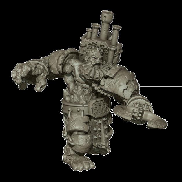Kings Of War Vanguard: Abyssal Dwarf Support Pack: Infernox