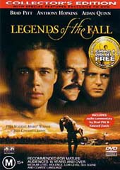Legends Of The Fall - Collector's Edition on DVD
