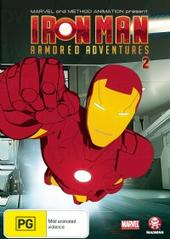 Iron Man: Armored Adventures 2 on DVD
