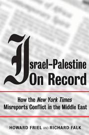 Israel-Palestine on Record by Howard Friel image