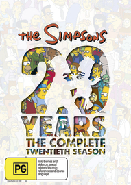 The Simpsons - Season 20 on DVD image