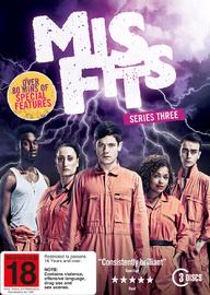 Misfits - Series Three on DVD