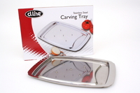 Stainless Steel Carving Tray