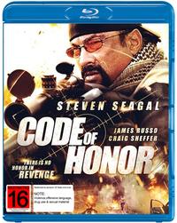Code of Honour on Blu-ray