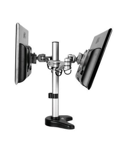 Loctek DLB203 Dual Monitor Arm Desk Mount at Mighty Ape NZ