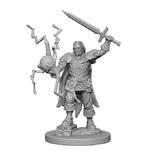 Pathfinder Deep Cuts: Unpainted Miniatures - Human Male Cleric