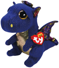 Ty Beanie Boo Medium Saffire Dragon