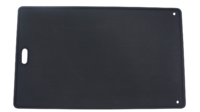 Cast Iron Reversible Hotplate with Smooth & Ribbed Surface 462x282mm