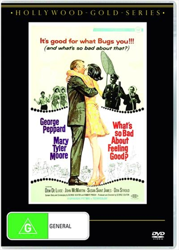 What's So Bad About Feeling Good on DVD