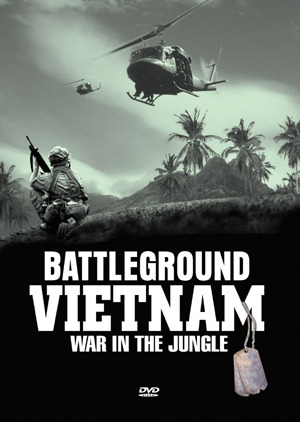 Battleground Vietnam - War In The Jungle (5 Disc Box Set) on DVD