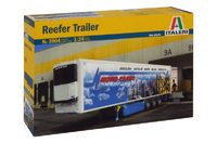 Italeri Reefer Trailer 1:24 Scale Model Kit