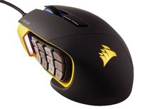 Corsair SCIMITAR PRO RGB MMO/MOBA Gaming Mouse - Yellow for PC Games