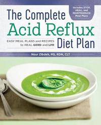 The Complete Acid Reflux Diet Plan by Nour Zibdeh image