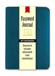 Password Journal: Caribbean Blue by Publications Dover