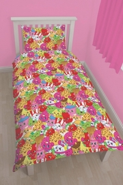 Shopkins Trolley Reversible Duvet Cover - Single