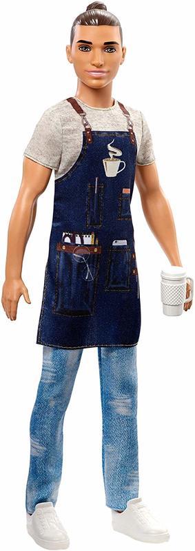 Barbie Careers - Barista Ken Doll