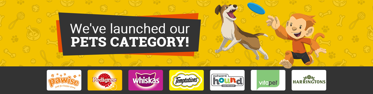 We've launched Pets category!