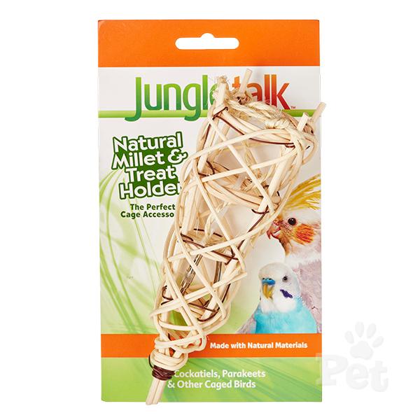 Jungle Talk: Natural Millet and Treat Holder image