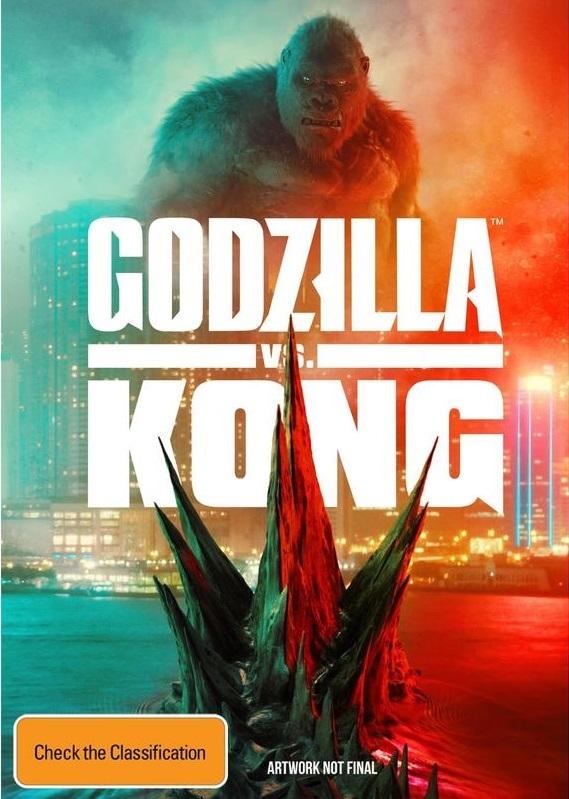 Godzilla vs. Kong on DVD