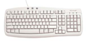 Microsoft Basic Keyboard PS2 OEM 3pk Q95-00044 image