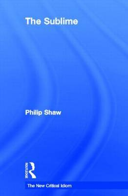 The Sublime by Philip Shaw image