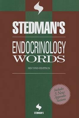 Stedman's Endocrinology Words by Stedman's